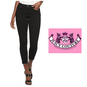 Juicy Couture Flaunt It Moto Skinny Jeans Sz 16